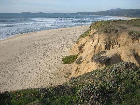 Half Moon Bay State Beach California