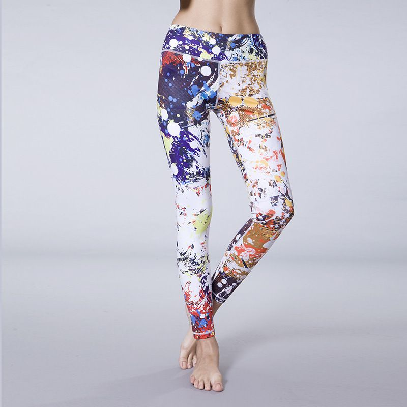 Sublimation digital printed Yoga Pants Fantasy IG ...