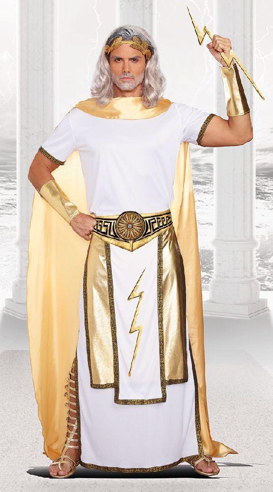 Zeus Costume in 2019 | Zeus costume, Greek