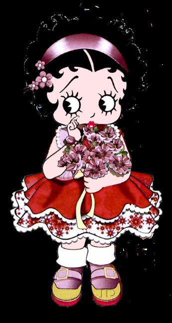 Vintage Betty Boop Polka Dot Cartoon Gift Girls Youth Newborn Infant Rompers