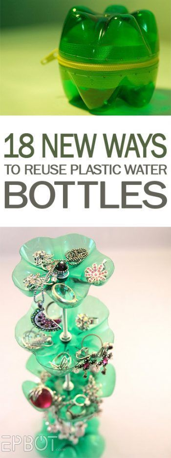18 New Ways to Reuse Plastic Water Bottles | 101 Days of Organization