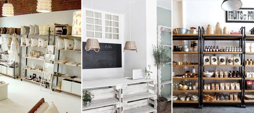 Dise o de tiendas peque as moboliario materiales y for Decoraciones para el hogar catalogo