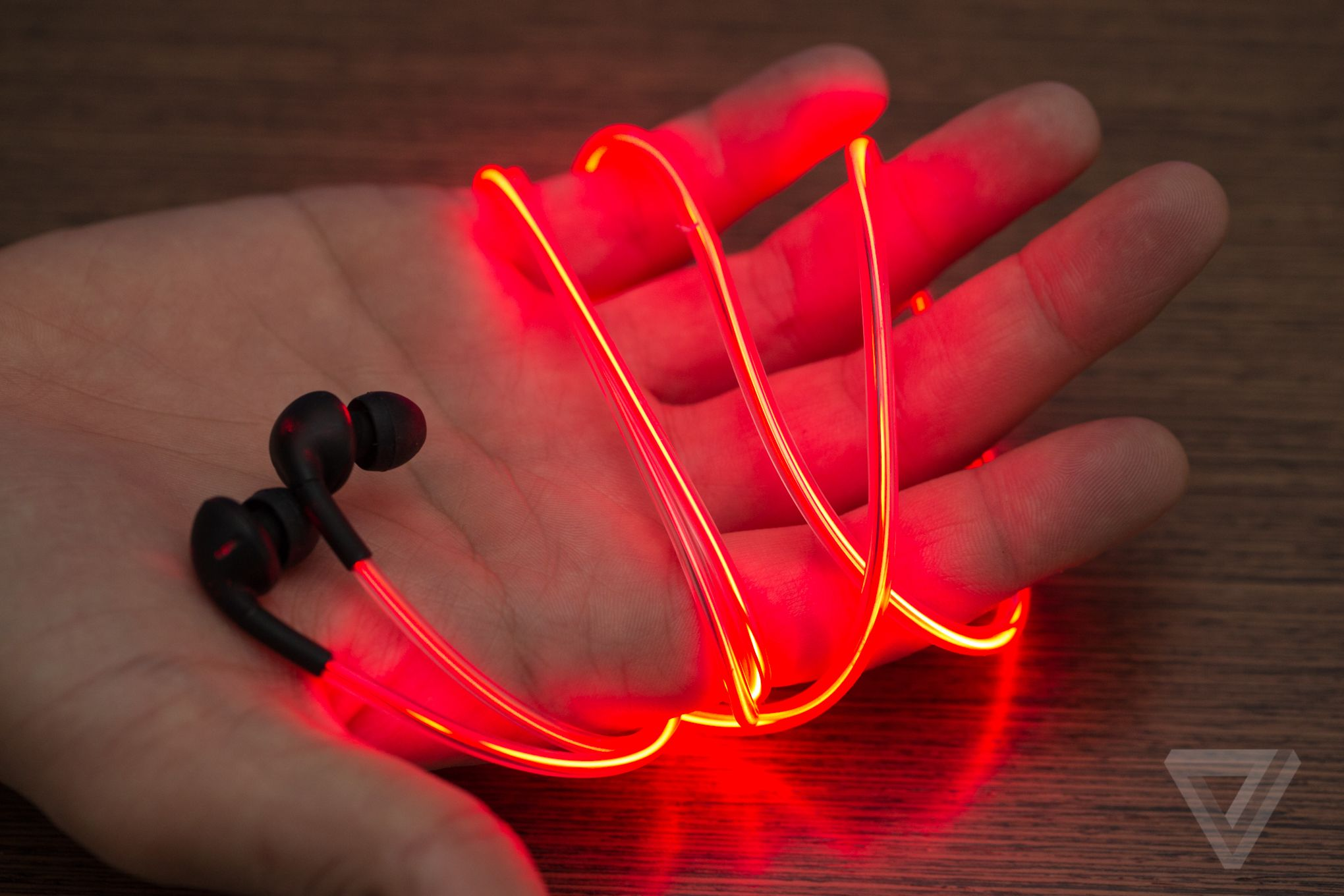 Up Close With Glow S Crazy Laser Light Earbuds Earbuds Cool Technology Tech Gifts