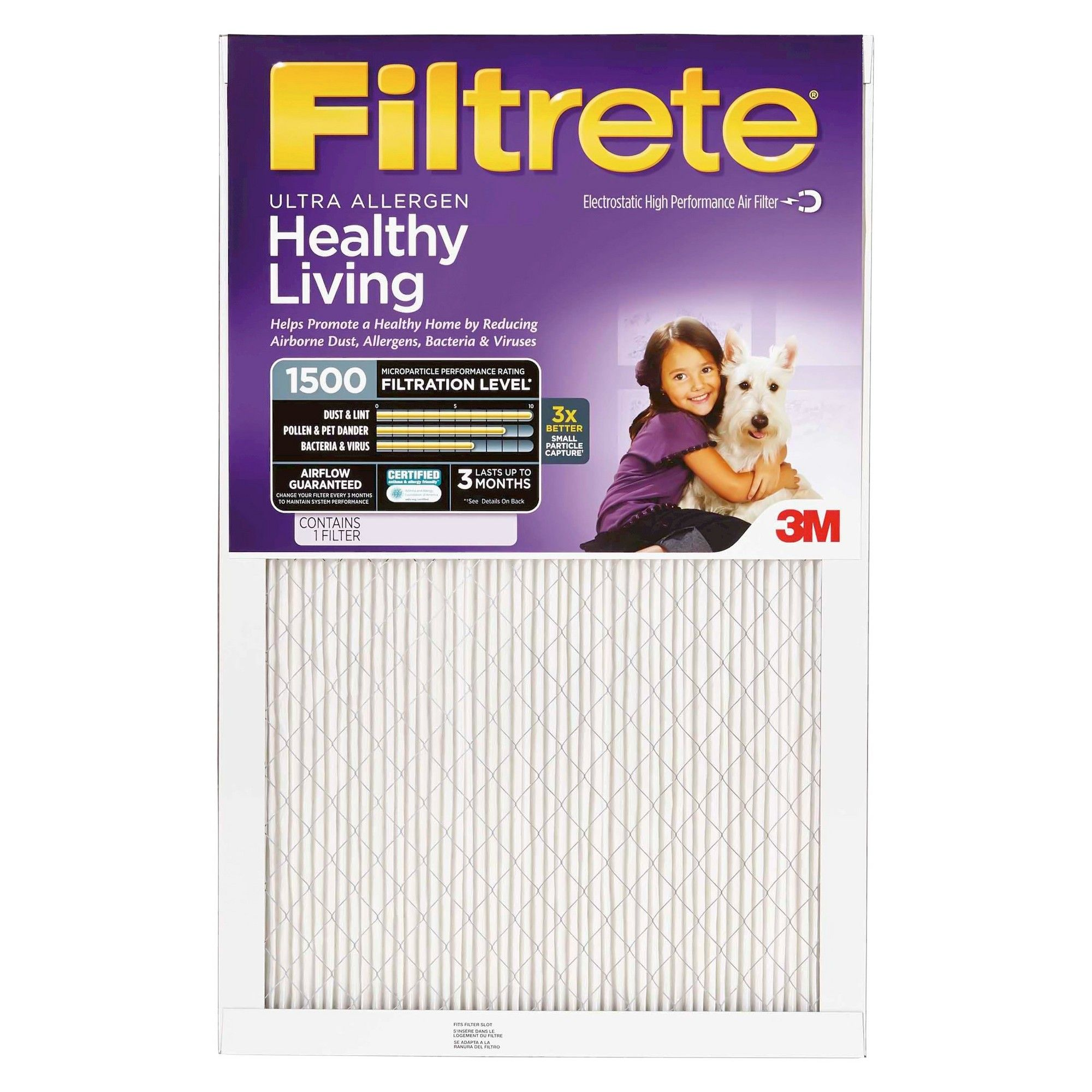 Costco Furnace Filters Filtrete Ultra Allergen 14x24x1 Air Filter None Products Costco