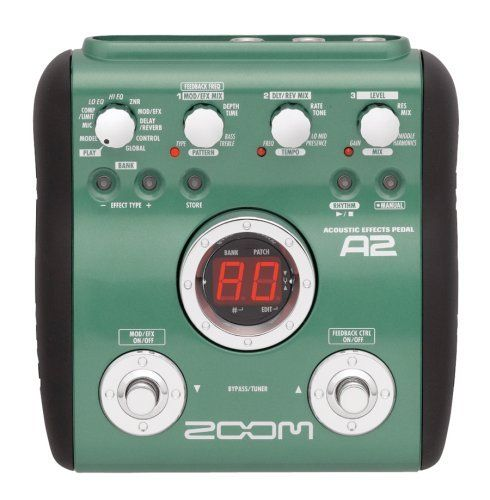Zoom A2 Acoustic Guitar Multi Effects Pedal By Zoom 99 00 Amazon Com Zoom S A2 Proc Effects Pedals Acoustic Guitar Guitar Multi Effects Pedal