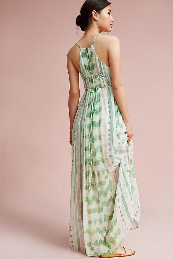Vera Silk Maxi Dress