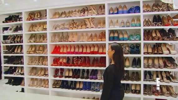 Check Out Full Pictures Of Khloe Kardashians Walk In Closet