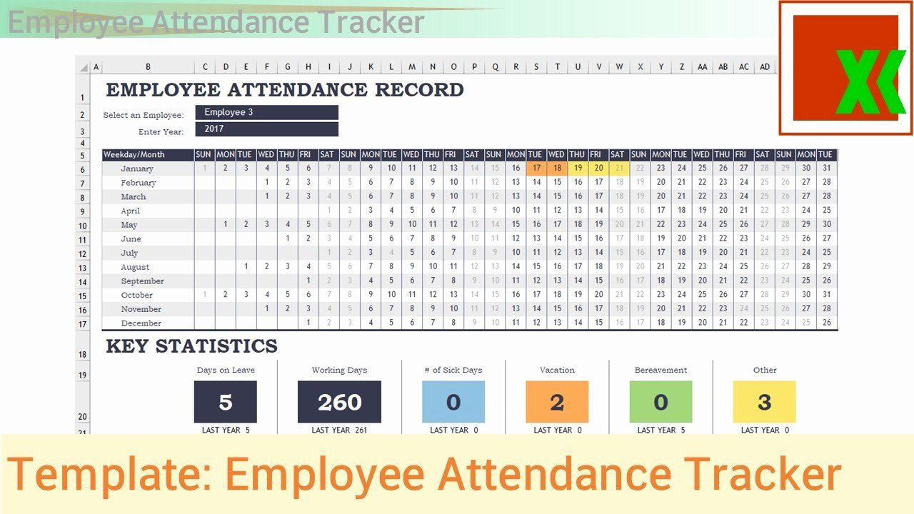 Employee Performance Tracking Template Excel Luxury Excel Template ...