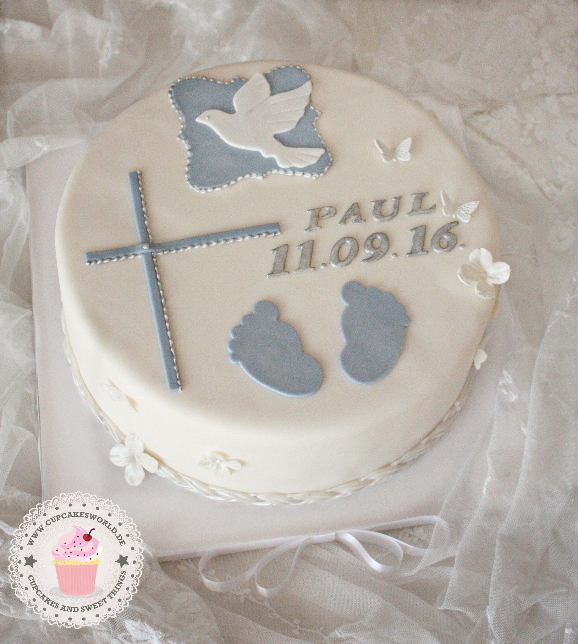Torte Fr Taufe Und Geburtstag