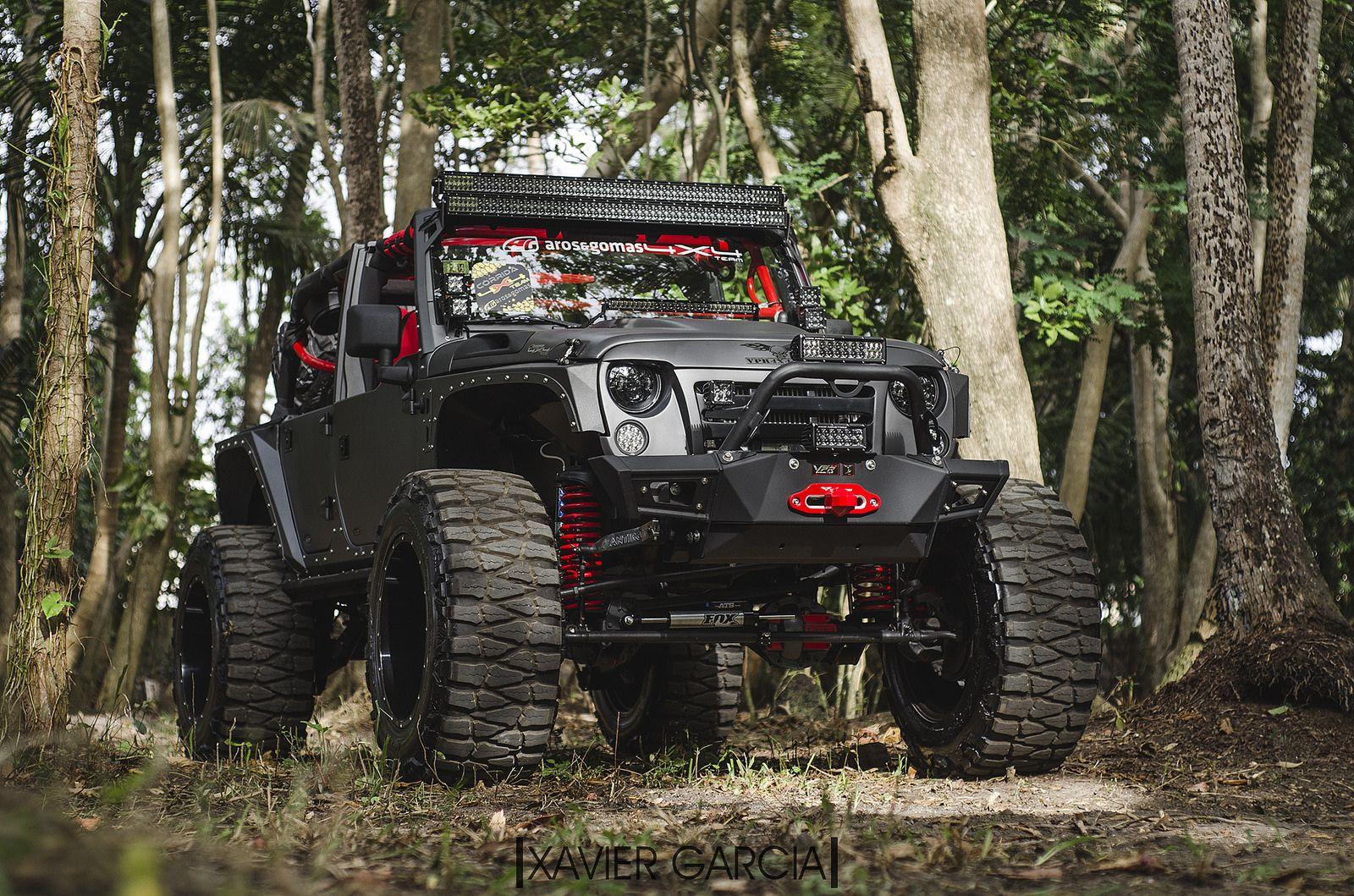 Aros Gomas Vpr Bumpers Jeep Wrangler 4x4 Trucks Road