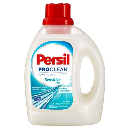 Persil Sensitive Skin Liquid Laundry Detergent Target Laundry