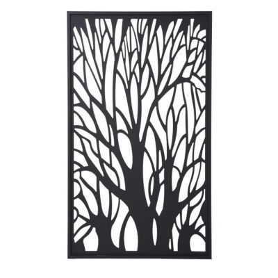 panneau d cor arbre blooma idaho 100 x 171 cm ah ap. Black Bedroom Furniture Sets. Home Design Ideas
