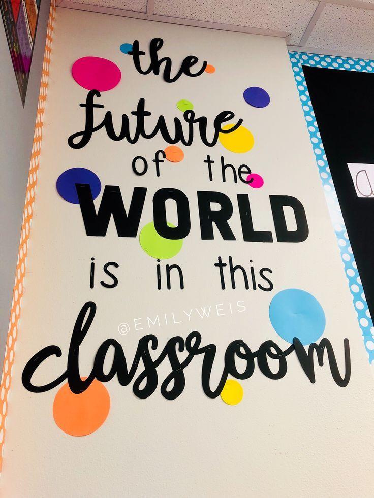 35 Excellent Diy Classroom Decoration Ideas Themes To Inspire You Diy Classroom Decorations Diy Classroom Classroom Quotes