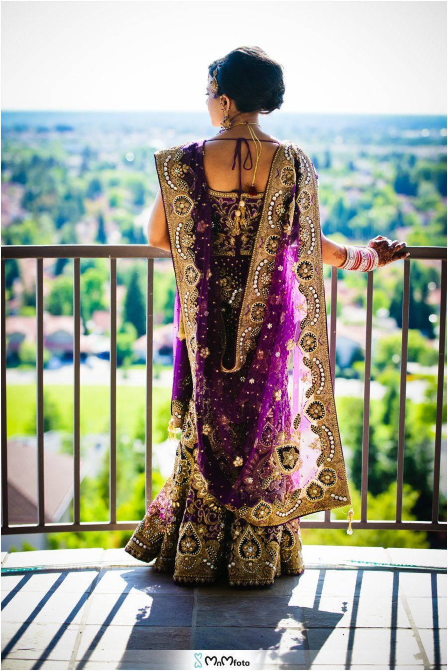 Wedding dresses with purple accents  Purple dress with gold accents Peacock themed Sacramento