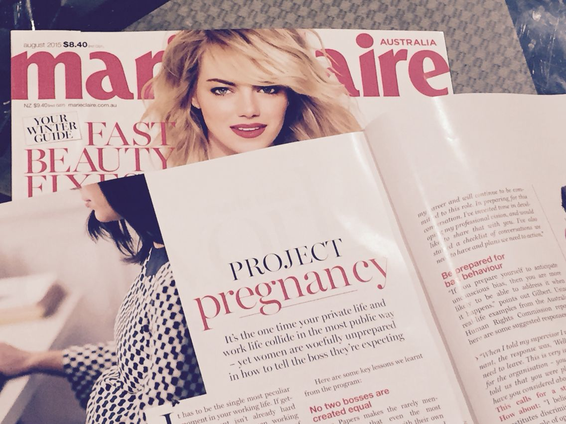 Check out some of the amazing features of the @Grace Papers programs in the August edition of Marie Claire Australia!