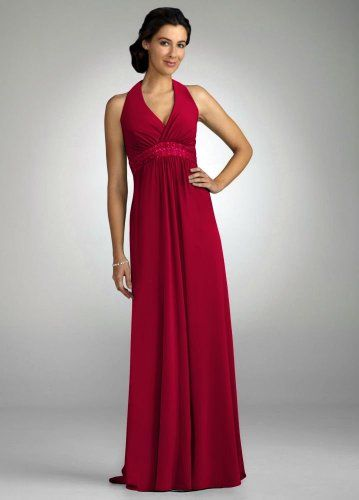 Davids Bridal Red Dress