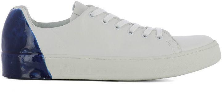 buy popular ef77e 0e725 Premiata White Leather Sneakers