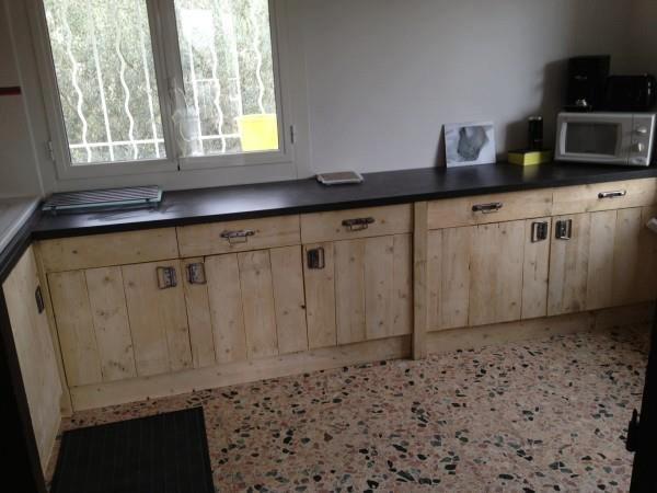 Fundacion Arte Reciclado Muebles De Cocina A Base De Pales - Muebles-de-cocina-reciclados