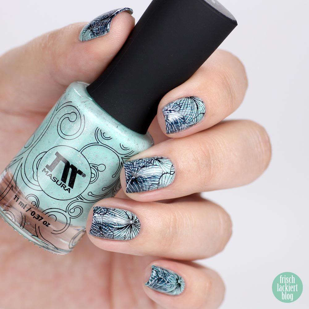 Beautiful Brushed Gradient Stamping Nail Art Polishes From Masura