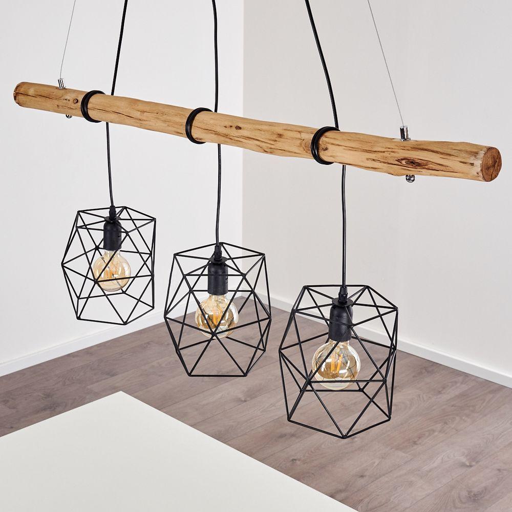 Ast Lampe Esstisch Naturlich Beleuchten Ast Lampe Holzbalken Lampe Esstischlampe Holz