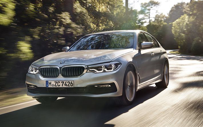 Download Wallpapers Bmw 5 Series 4k 2018 Cars Iperformance