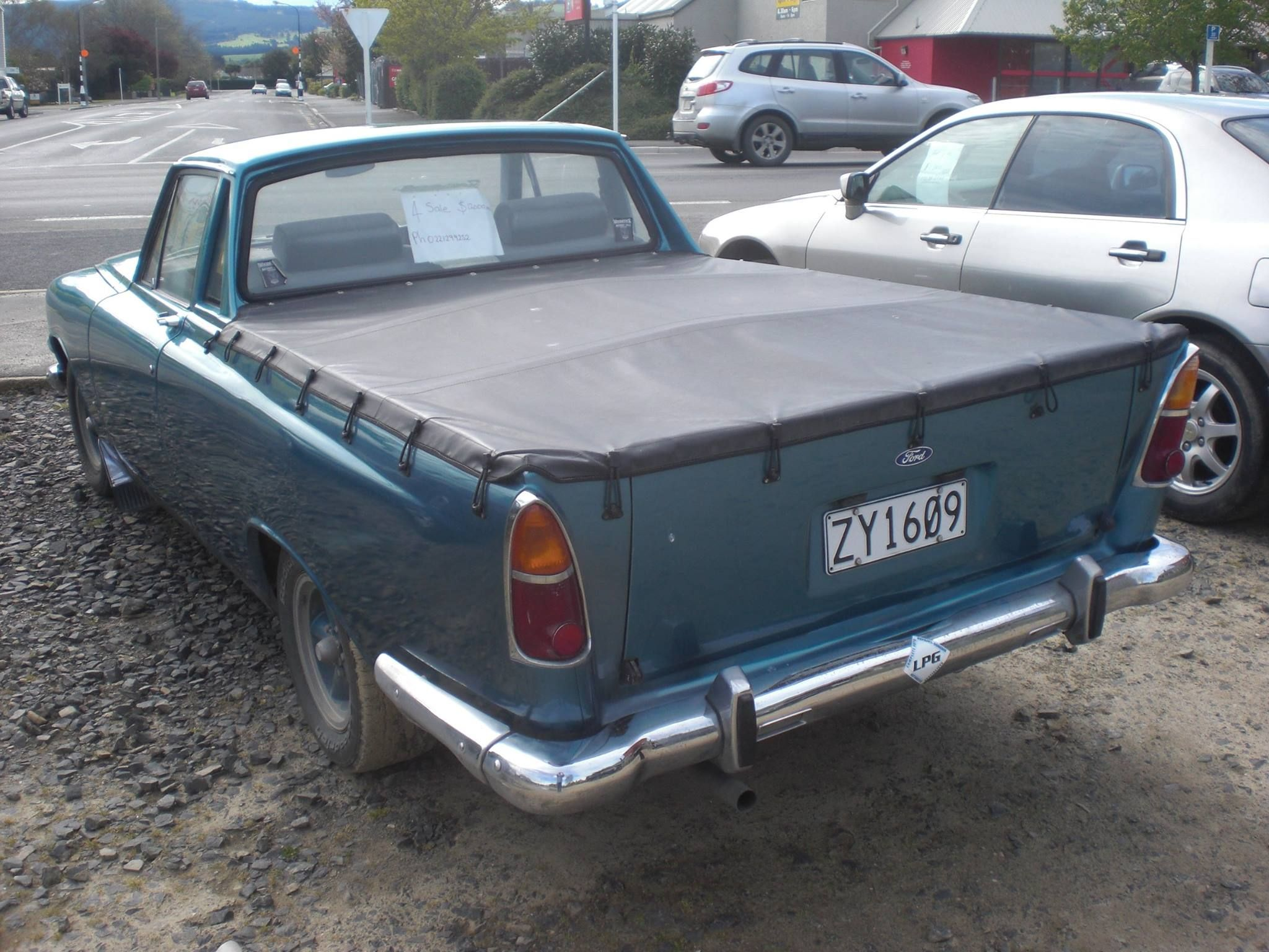 New Zealand Ute Conversion Ford Zephyr Mk3
