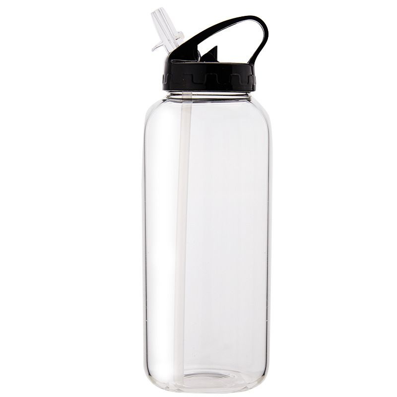 1 Liter Outdoor Sports Water Bottle Portable Mountaineering Glass Water Bottle In 2020 Sport Water Bottle Glass Water Bottle Water Bottle
