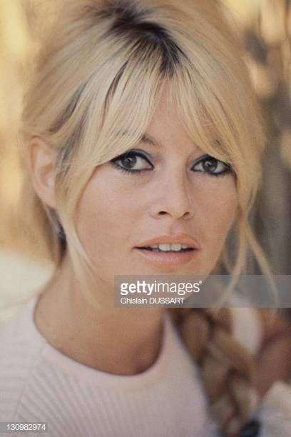 Photo of Brigitte Bardot attrice francese 1963 a Roma Italia