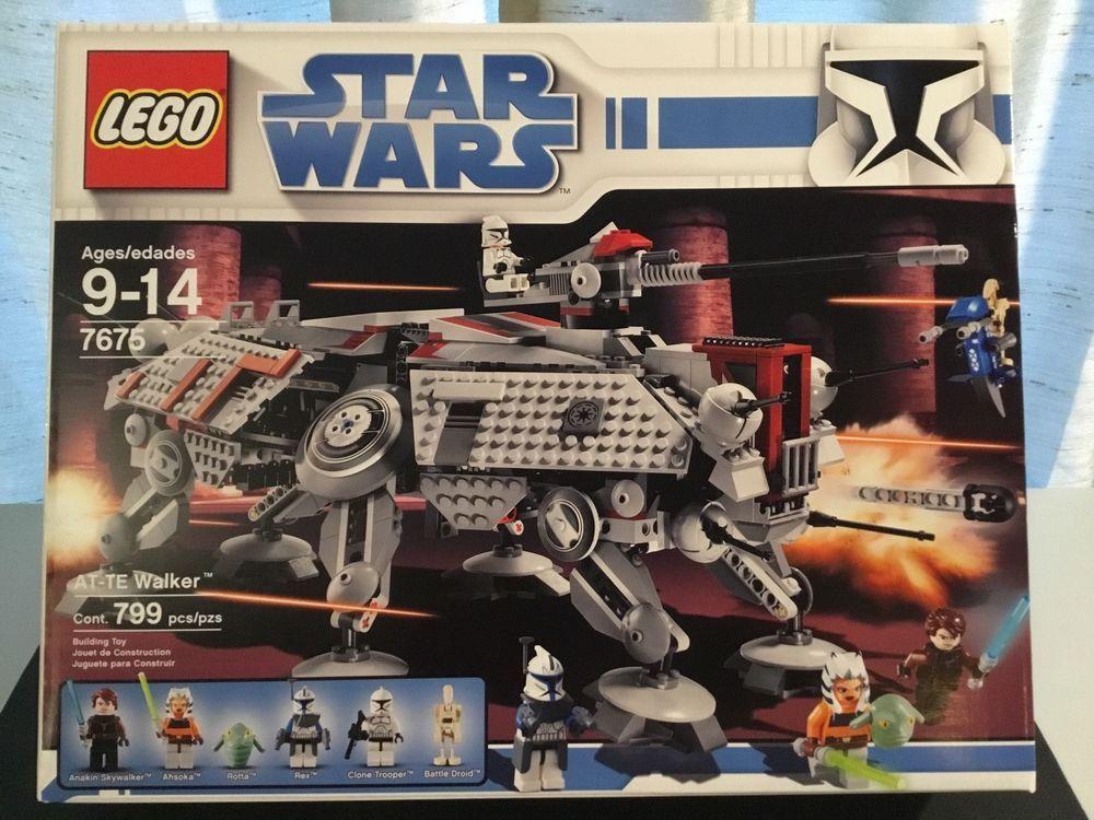 Lego Captain Rex 7675 AT-TE Walker Clone Wars Star Wars Minifigure