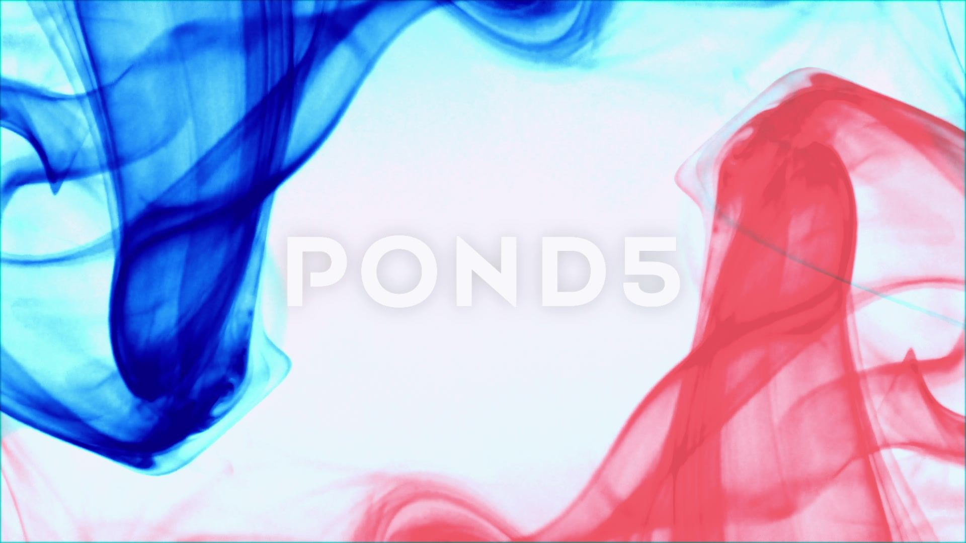 French Flag Formed With Blue Red Smoke White Background France