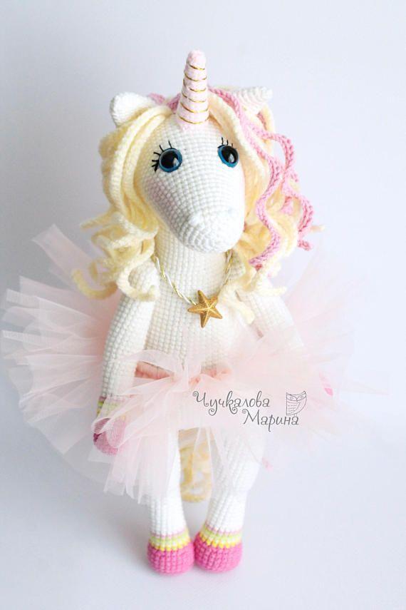 PATTERN Sweet unicorn PDF crochet toy pattern | crochet | Pinterest ...