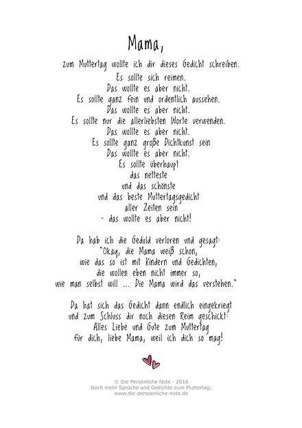 Mothers Day Gifts 2019 Witziges Muttertagsgedicht Und