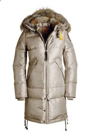 Parajumpers Long Bear Down Coat Womens Sand | Parajumpers