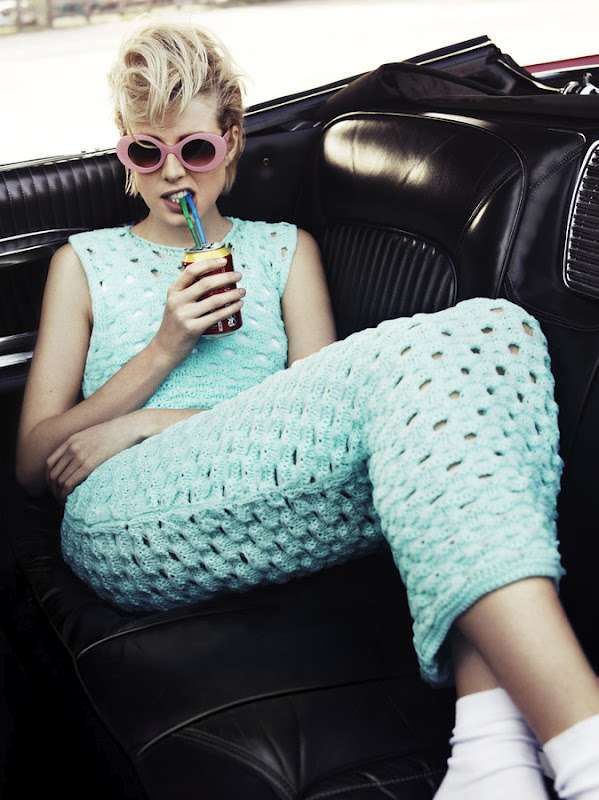 Retro Roadtrip Editorials - The i-D Summer 2012 Deyn Photoshoot is Vintage and On-the-Go (GALLERY)
