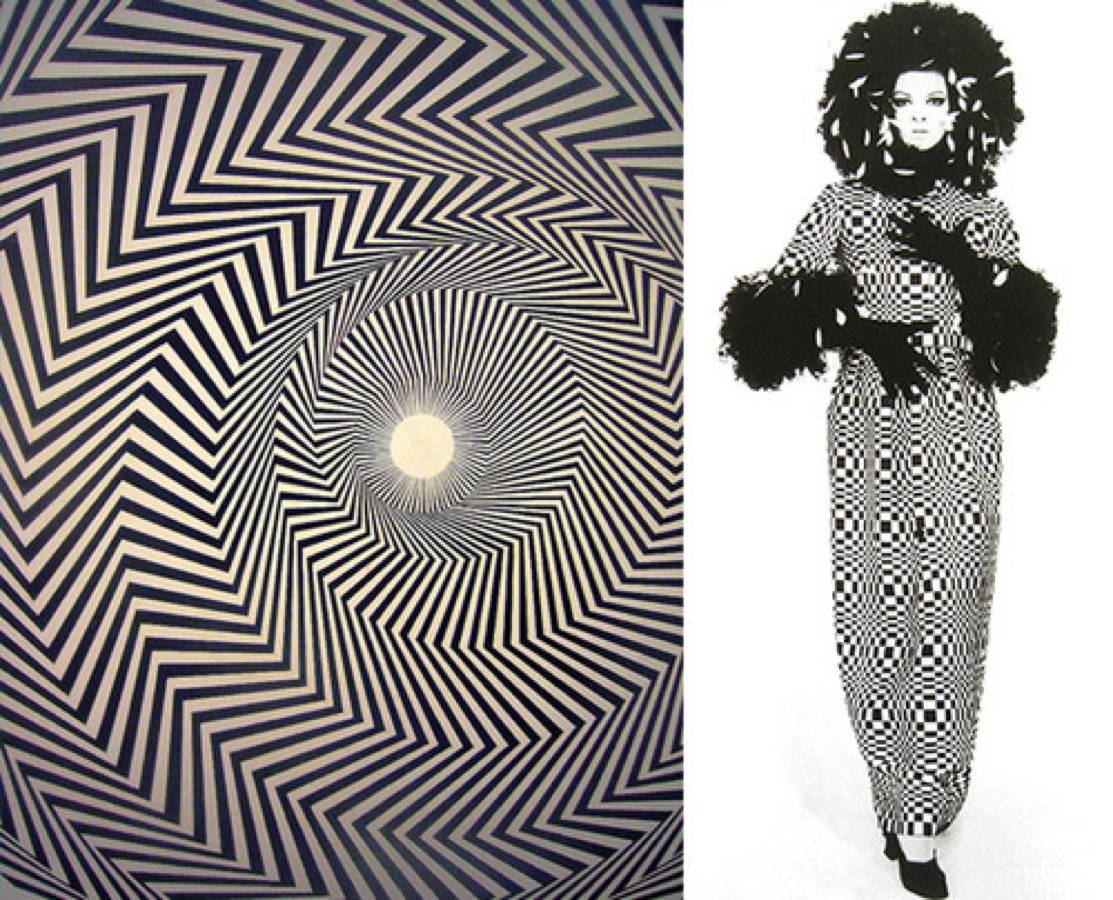 Op Art Is Optical Art That Stems From Optical Illusions