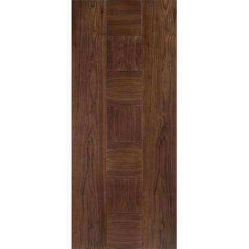 Catalonia Walnut Fire Door Pre Finished 1 2 Hour Fire Rated Europadoors Directdoors Lpddoors New Products Fire Doors Walnut Doors Doors