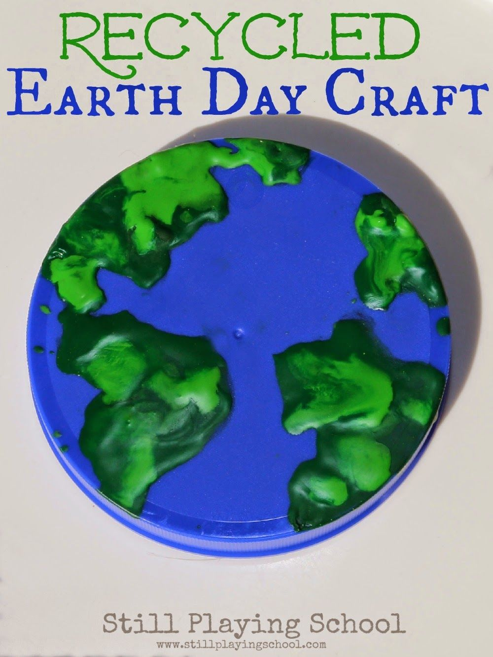 Recycled Earth Day Craft Earth Day Crafts Earth Day Planet Crafts