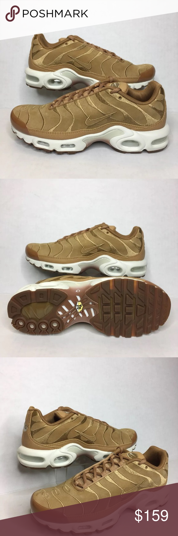 559c6bd1a6 Nike Air Max Plus TN Tuned 1 EF Wheat AH9697 201 Sneakers are New with the