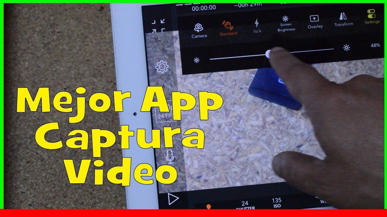 La Mejor App para Capturar video en el iPad Tips iOS