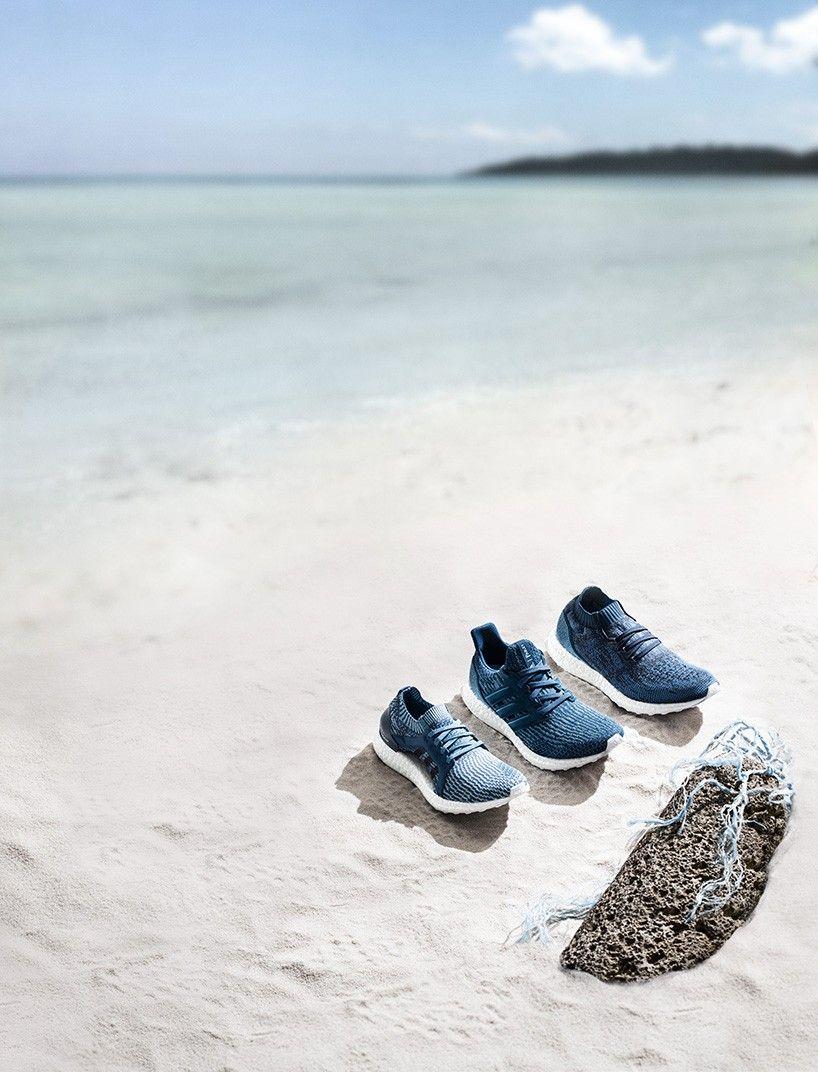 adidas X parley recycle ocean plastic debris into three new