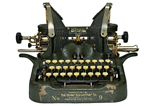 Oliver No. 9 Typewriter on OneKingsLane.com