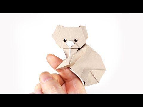 Photo of Origami Koala (Yoshihide Momotani) – Paper Folding / Papier Falten / 종이접기 – Paper Crafts 1101 おりがみ