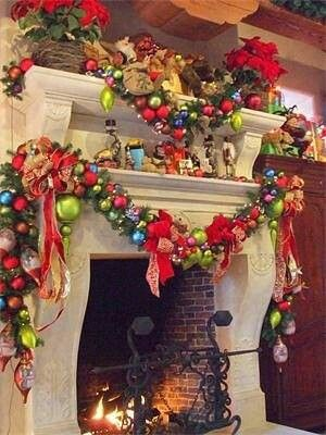 Colourful Christmas Pinterest
