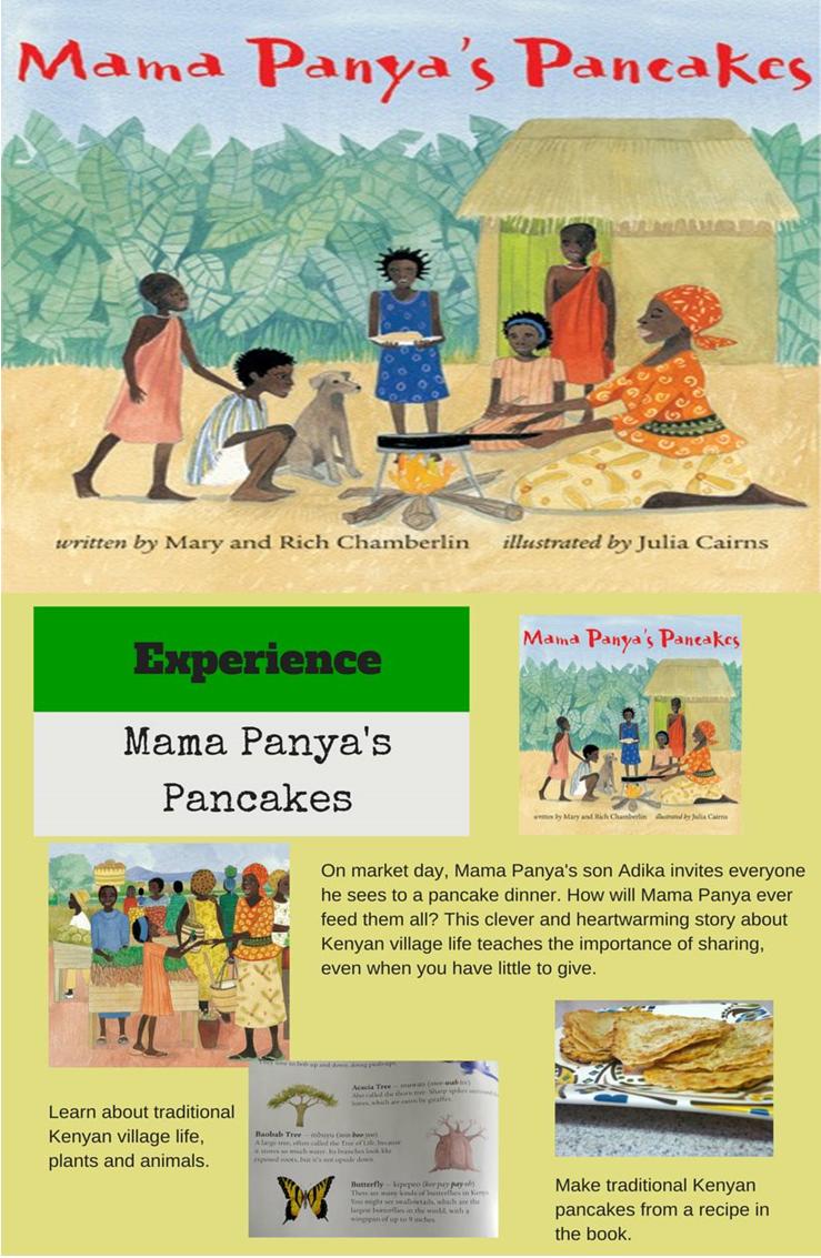 Mama Panya's Pancakes is a heartwarming children's book that teaches