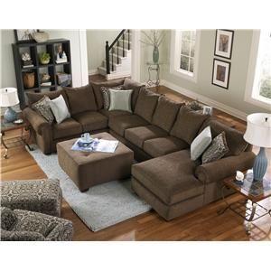 4100 Sectional Sofa By Corinthian Wolf Furniture Pennsylvania Maryland Virginia Diy Remodel Center