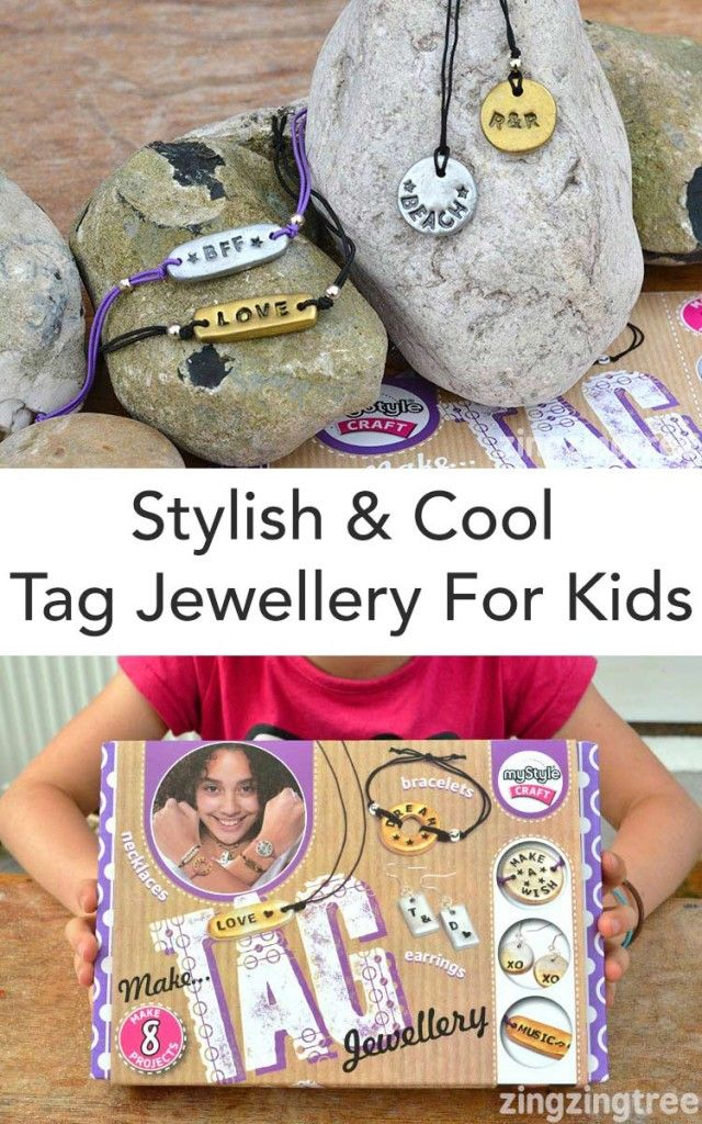 Stylish Street Style Tag Jewellery Kit For Kids Gift Ideas For
