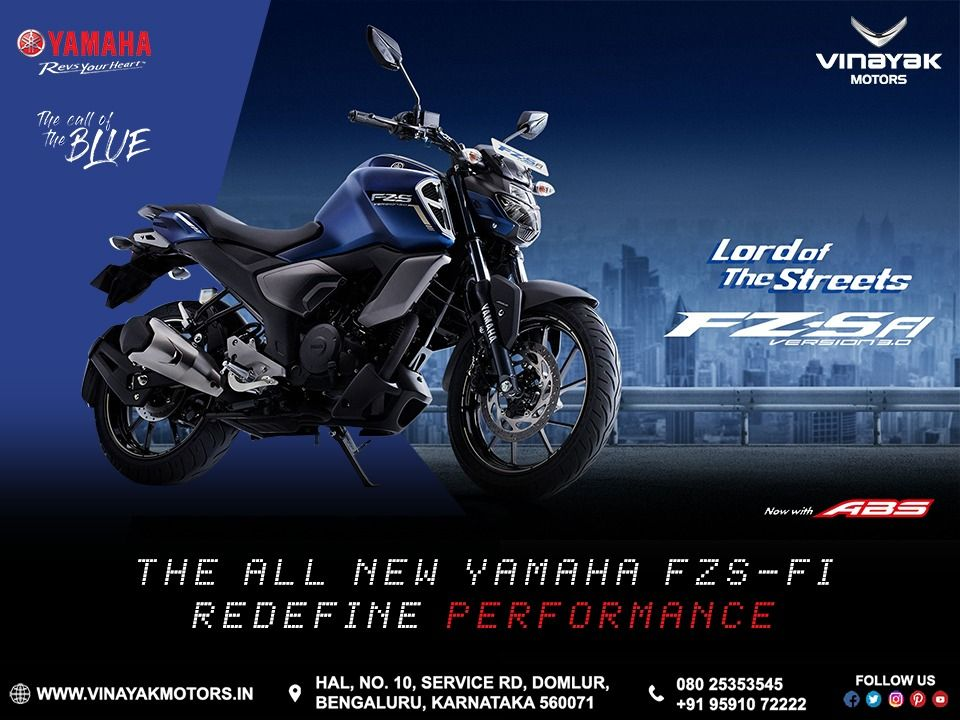 The All New Yamaha Fzs Fi Version 3 0 Redefing Performance Now