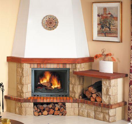 Resultado de imagen para chimeneas rusticas esquineras for Hogares a lena rusticos