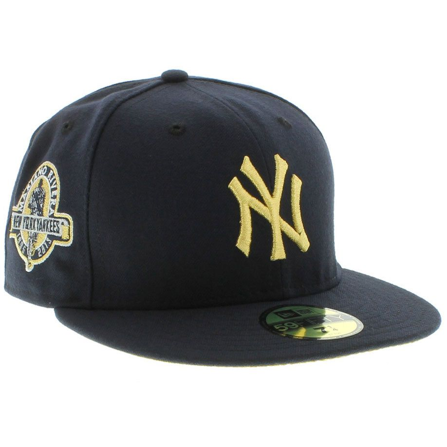 New York Yankees Mariano Rivera 59fifty - Navy & Gold By New Era Cap