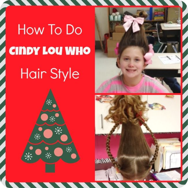 How To Do Cindy Lou Hair Do Tutorial